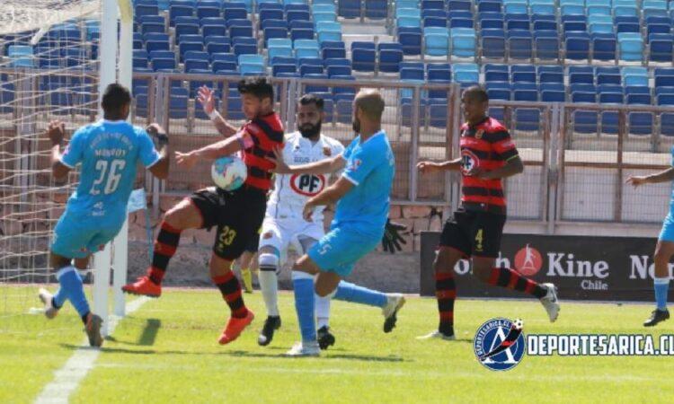 El cuadro sanmarquino empató a cero con el equipo visitante.